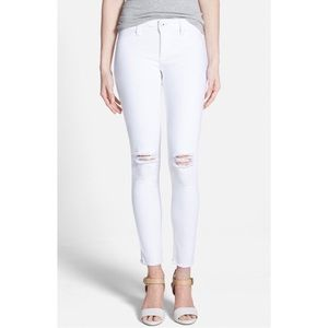 DL1961 DENIM | Emma White Distressed Legging Jeans